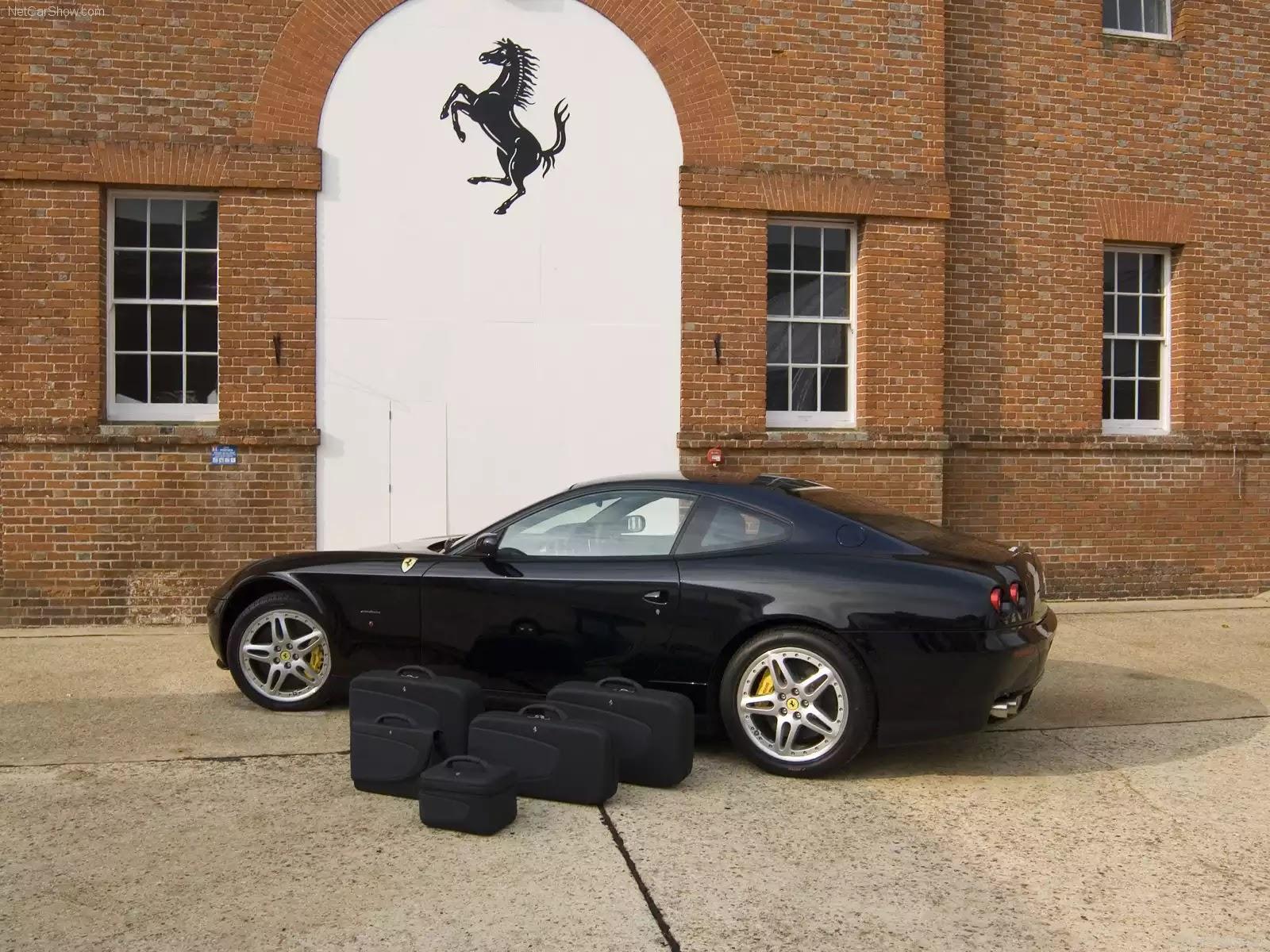 Hình ảnh siêu xe Ferrari 612 Scaglietti Wallpaper 2006 & nội ngoại thất