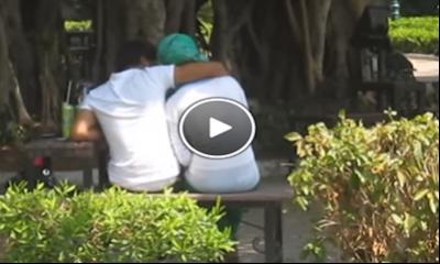 شاهد بالفيديو مخدرات وقبلات ودعارة في حديقة الميرلاند