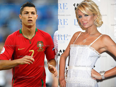 cristiano ronaldo and Paris Hilton Pictures