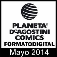Planeta DeAgostini Cómics: Novedades Mayo 2014 en formato digital