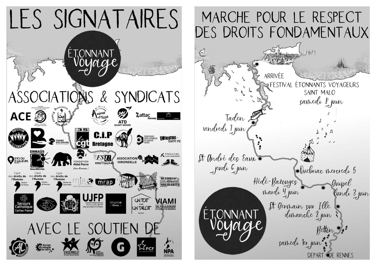 l'Etonnant voyage _ Rennes Saint Malo - 1-8 juin 2019