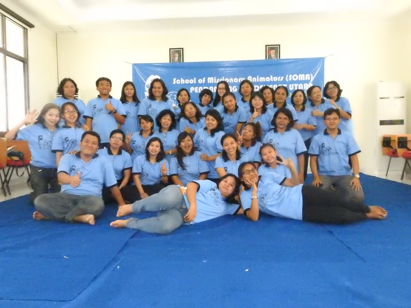 Bersama Para Pendamping PIA dekenat utara Keuskupan Purwokerto 16-17 Juli 2016