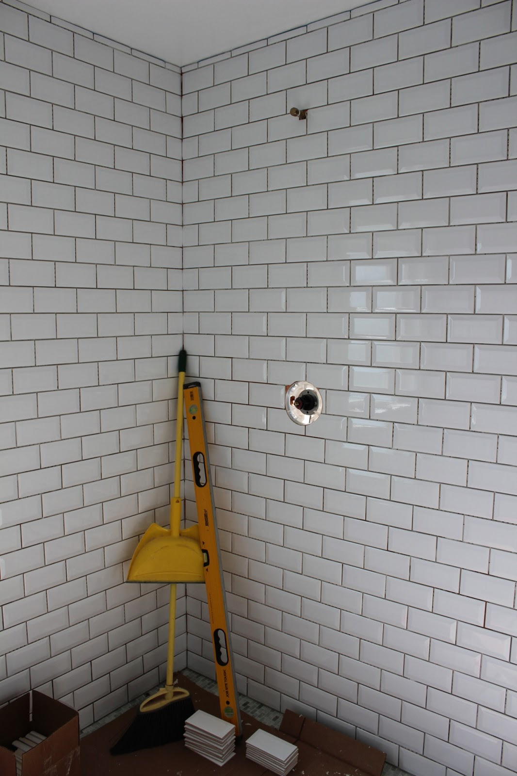 Bathroom Tile Quarter Round that last little wall of tile