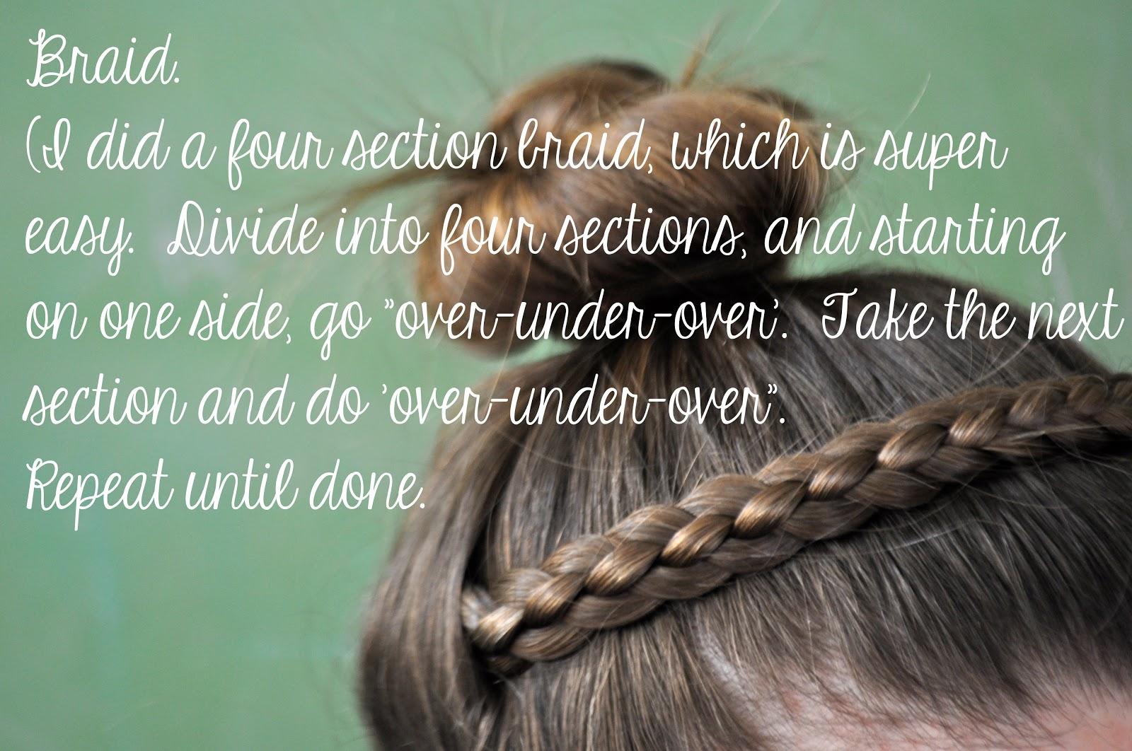 Ducklings In A Row Hair Diy Tutorials Heidi Braid 1 The