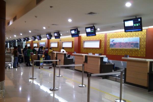 Bandara Sultan Syarif Kasim II Pekanbaru. ZonaAero