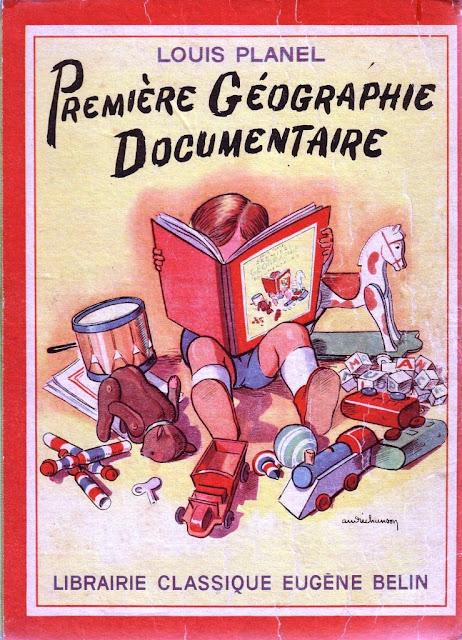 juin 2014 :premier livre de géographie du GRIP pour primaire 1e+de+couverture
