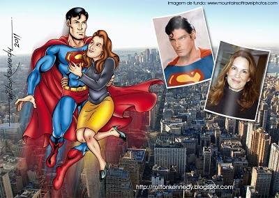 Christopher Reeve e Dana Reeve