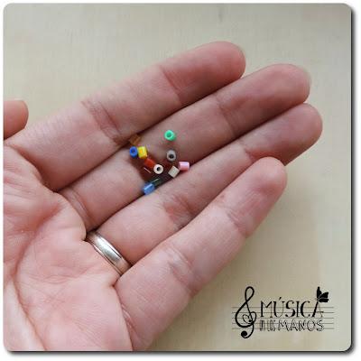 Hama Beads en mi mano