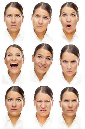 Commit error. differences in facial expressions consider, that