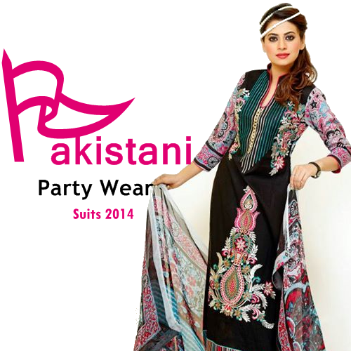 pakistani party wear 2014