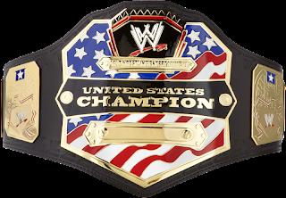 WWE US Title Belt Modern