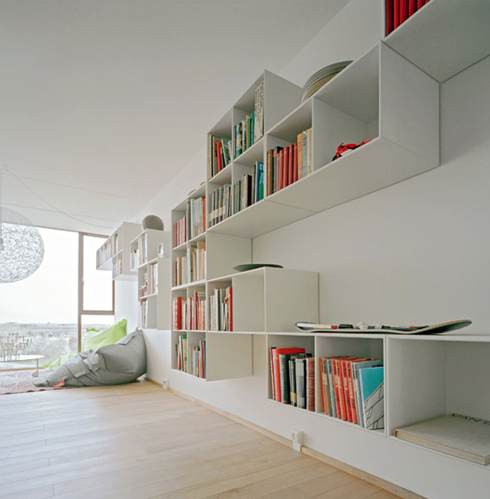 books shelves system
