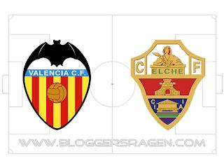 Prediksi Pertandingan Elche vs Valencia