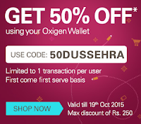 (Loot) Ebay Offer : Flat 50% Off On Any Products Purchase With Oxigen Wallet