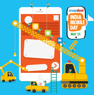 Snapdeal India Mobile Day : All great mobile offers at Snapdeal on May 22 : the biggest mobile and tablet sale!