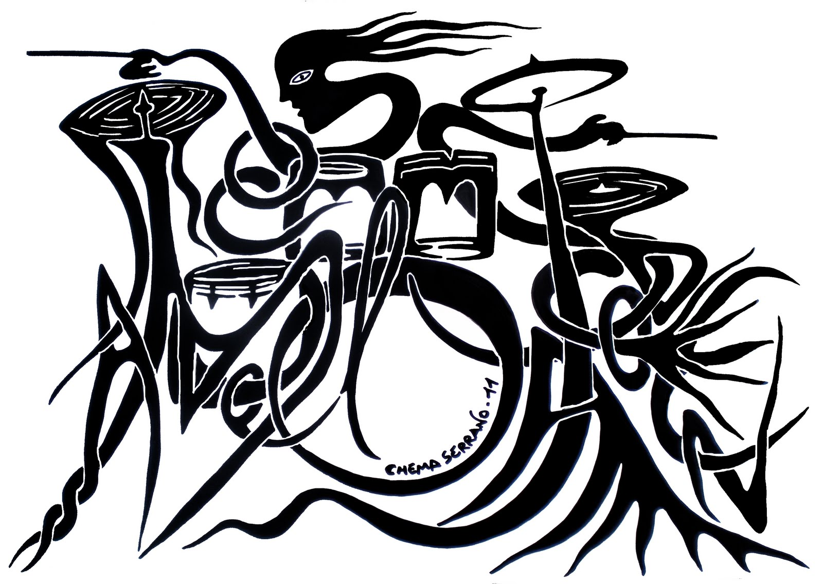 ARTE EN EL ALMA: Dibujo Nombre: MARCOS DEL AMO JACOBSEN