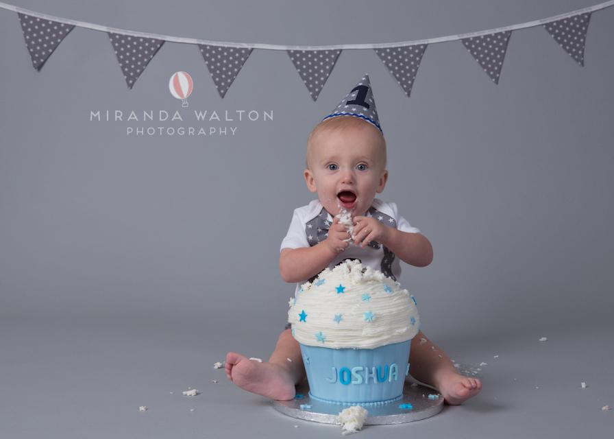Northamptonshire Cake Smash Miranda Walton Photography Blog