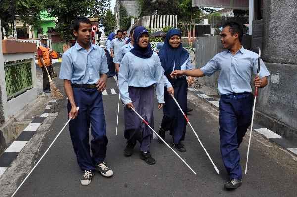 Menagih Janji Jokowi kepada Tuna Netra