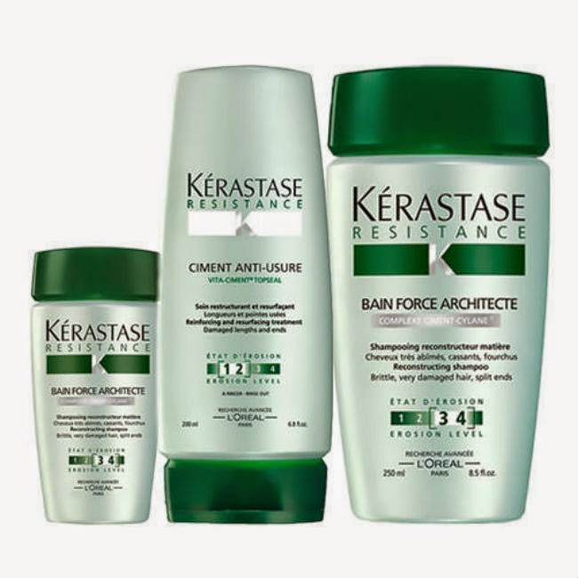 Hair Products Review Kerastase Resistance Line Diane