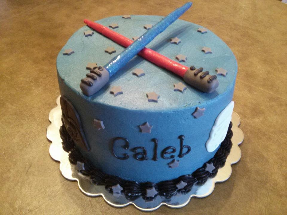 Simply Sweet Star Wars Cake