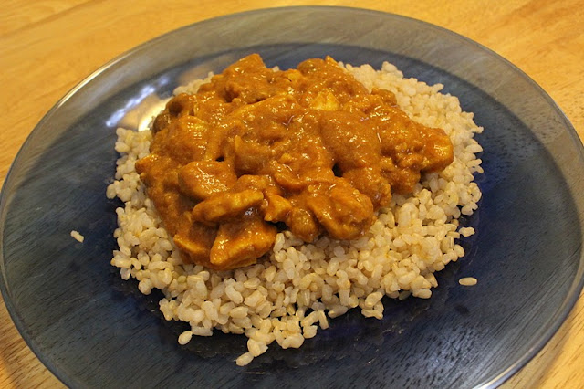 RisC Handmade: Curried Coconut Chicken