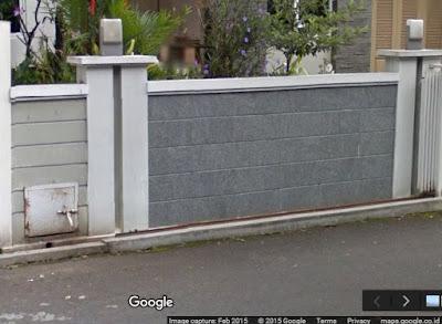pagar rumah minimalis mewah