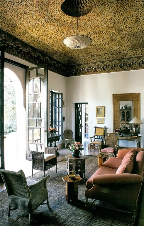 Geometry In Moroccan Architecture And Riad Design Find