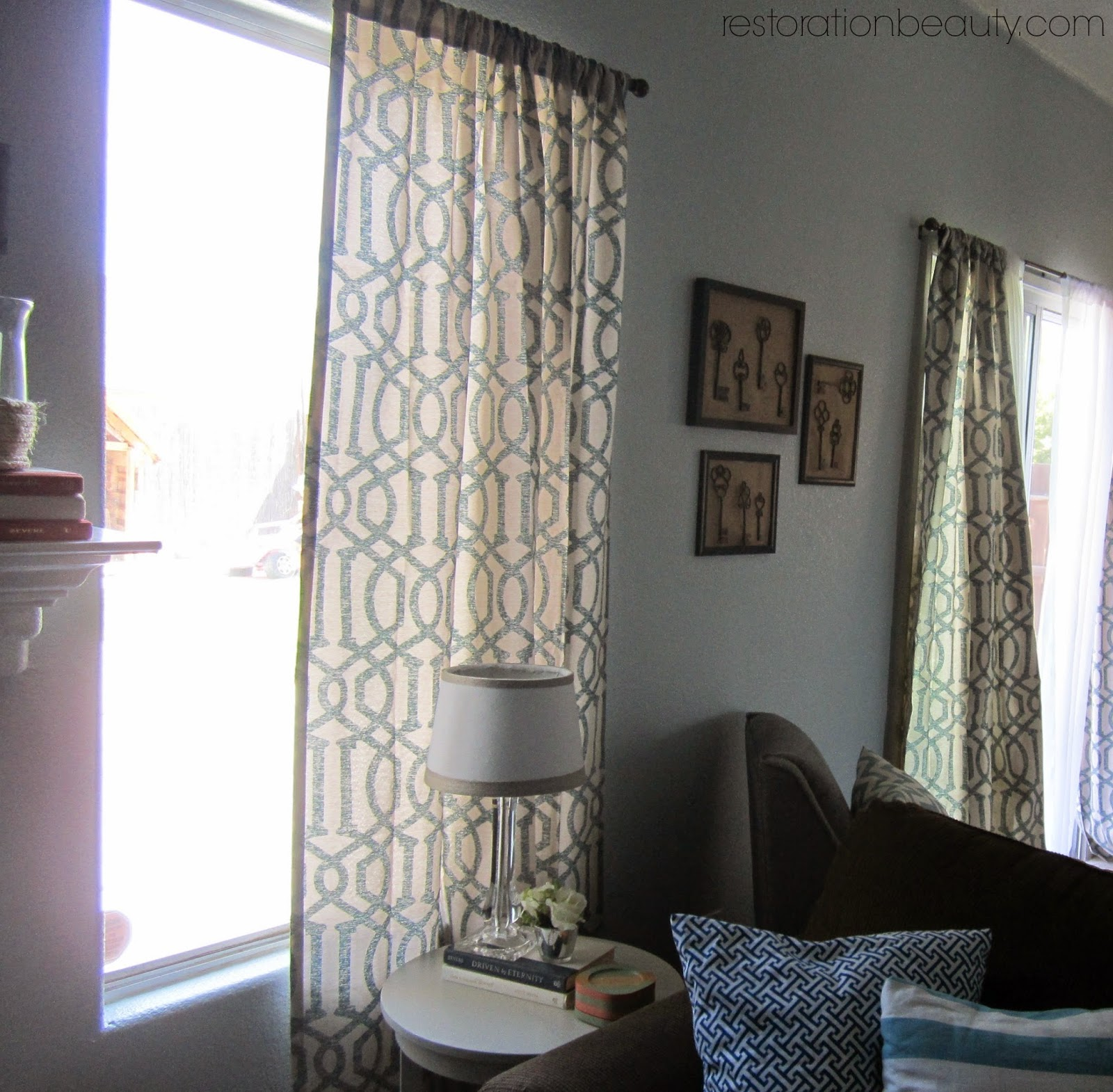 New Living Room Curtains Other Updates