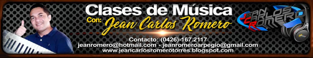 CLASES DE MÚSICA CON JEAN CARLOS ROMERO
