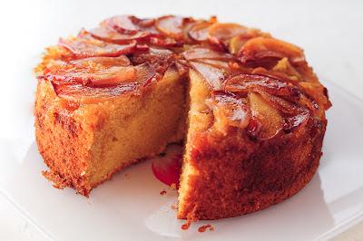 Recipe follows...: French Apple Cake