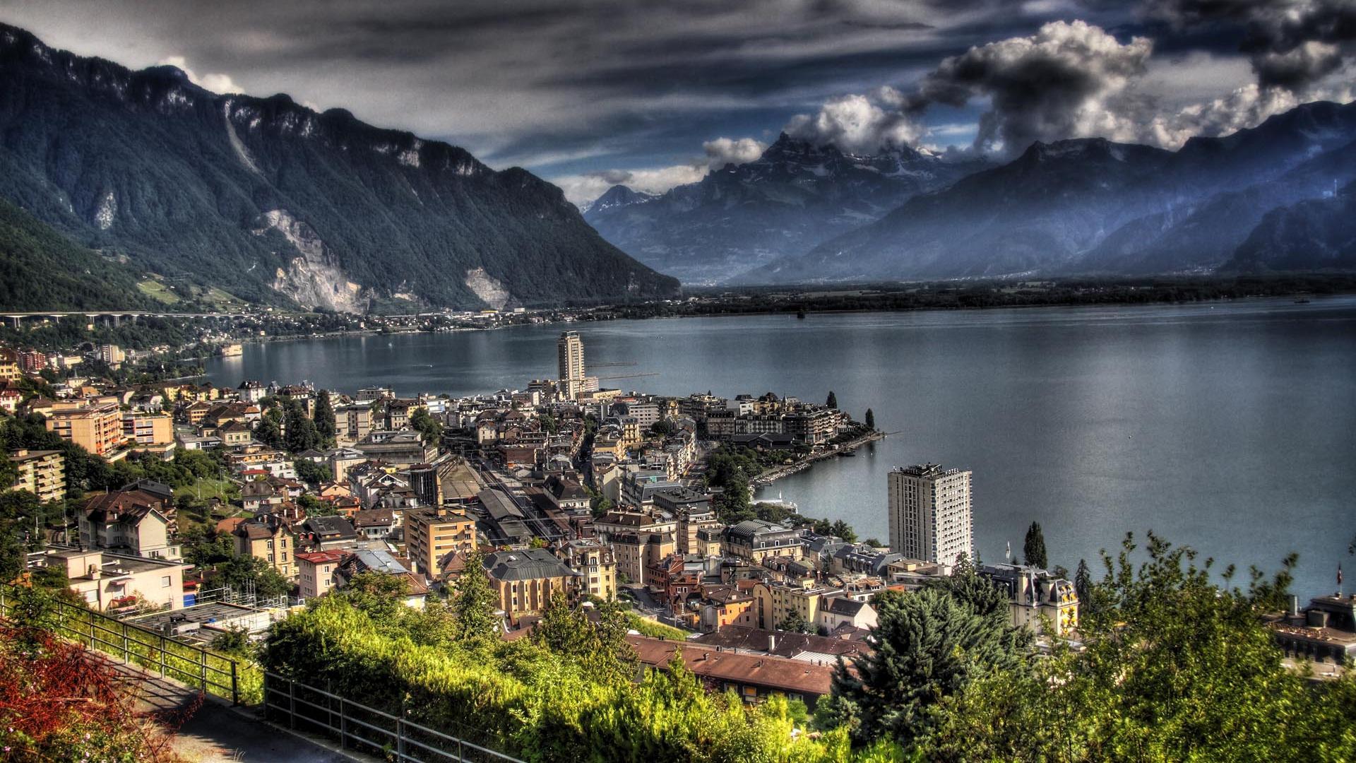 Montreux switzerland full hd desktop wallpapers 1080p - Switzerland wallpaper full hd ...