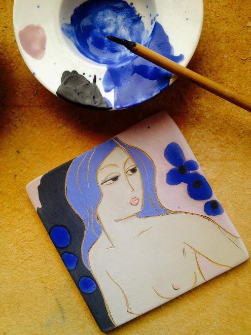 """""""Femmes aux cheveux bleus"""""""
