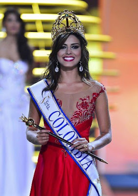 lucia aldana roldan was crowned miss colombia universe 2012 2013 on