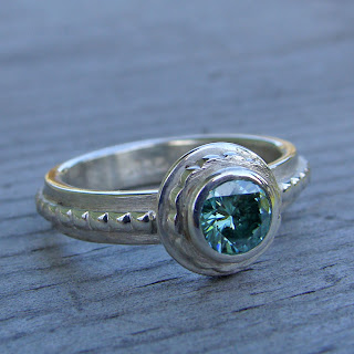 green moissanite