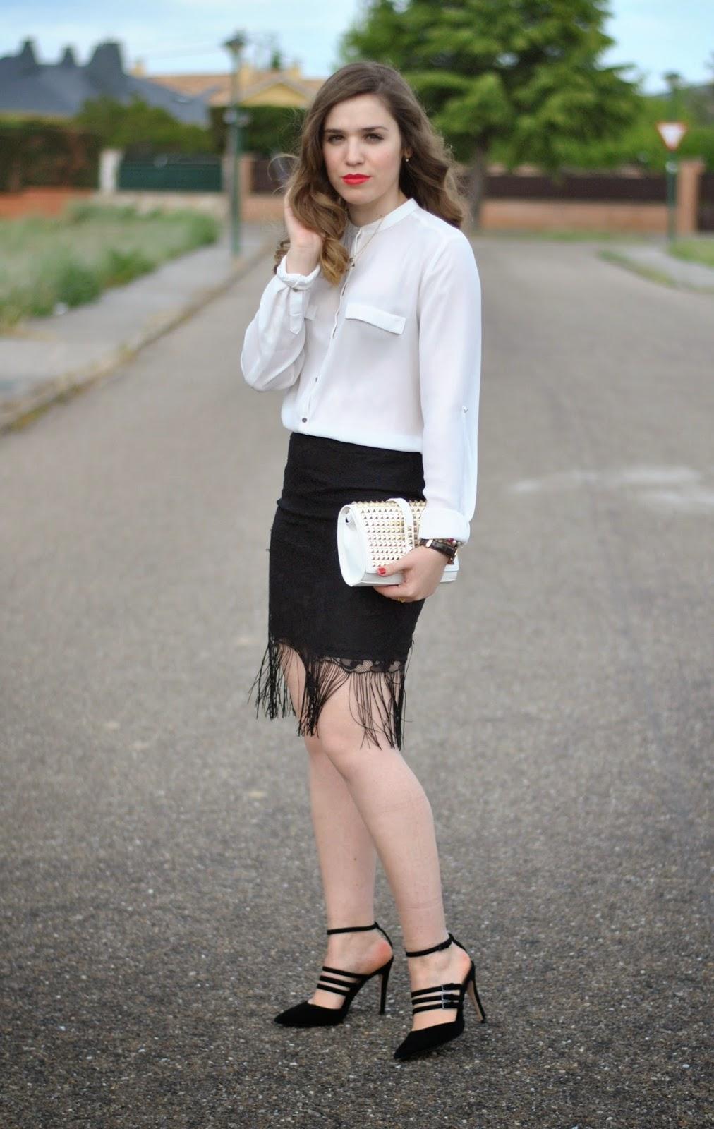 Fringes in my skirt