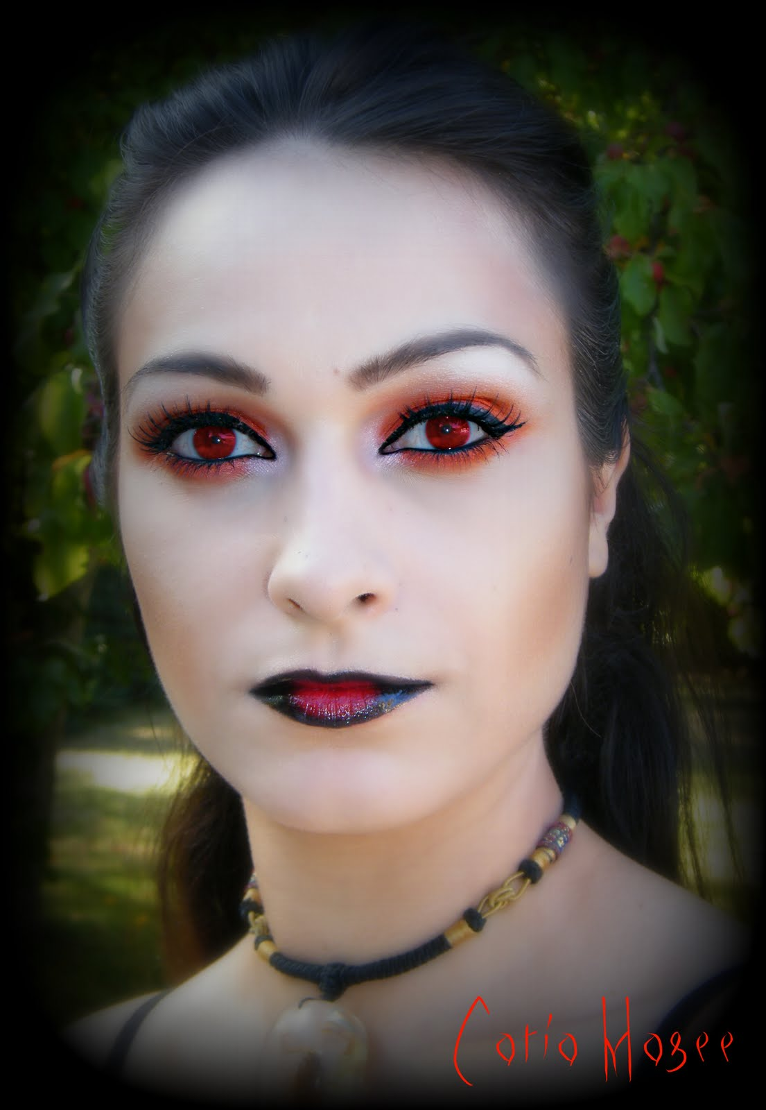 Beauty By Cat: Vampire Goth Look