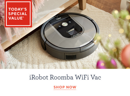 iRobot Roomba 960 WiFi Connect Robotic Vacuum & Virtual Wall