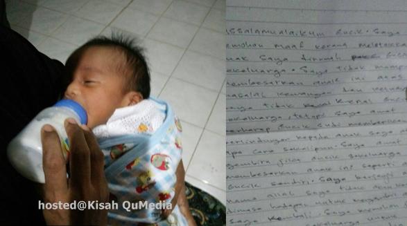 Isi Surat Ibu Tinggalkan Bayi Amat Menyentuh Hati