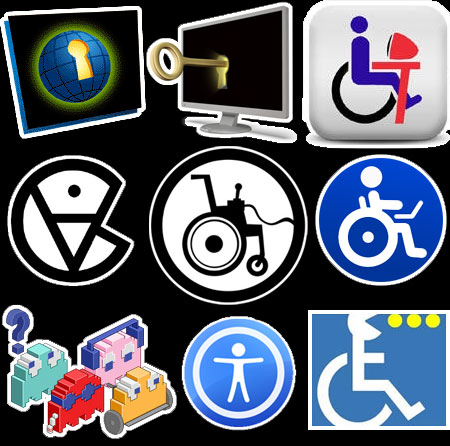 Game Accessibility and Web Accessibility Symbols.
