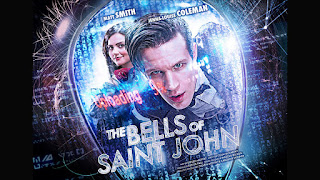 Doctor Who The Bells of Saint John Clara Oswald Matt Smith Jenna Louise Coleman Great Intelligence