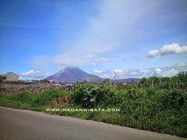 Gunung Sinabung Pasca Letusan