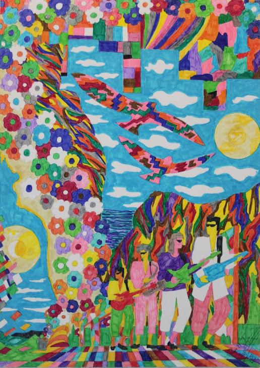 El cielo de colores 5-7-90