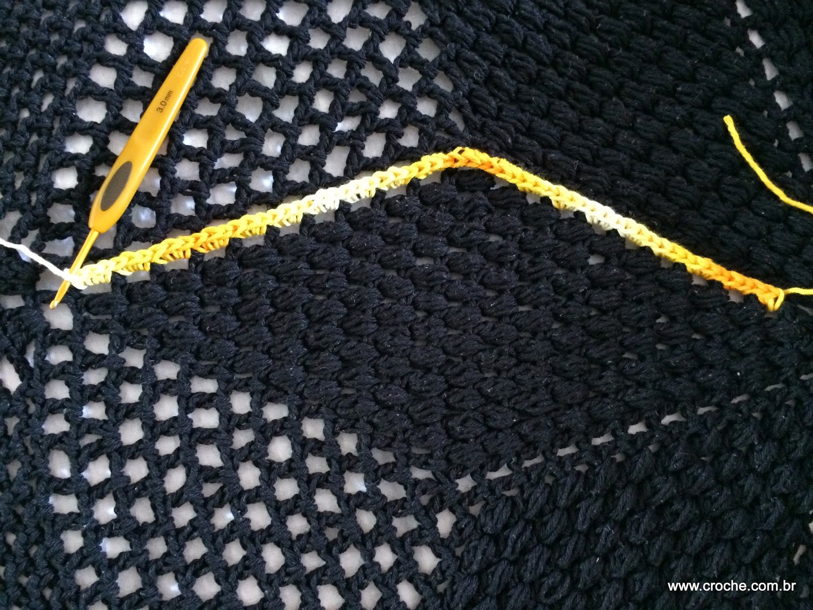 Tapete De Croche Grande Para Sala Redondo Tapete Redondo Passo A  -> Tapete De Croche Redondo Passo A Passo