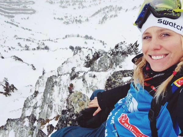 Anne Flore Marxer snowboarder