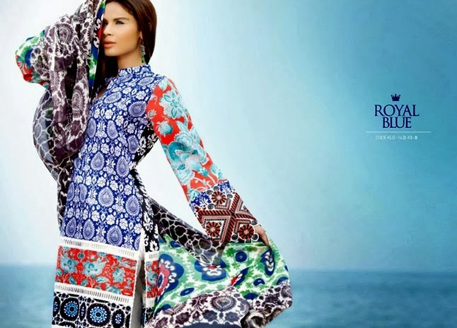 Embroidered Work Kamal Designer Lawn