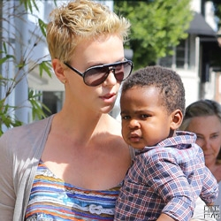 Charlize Theron adopts from South Africa