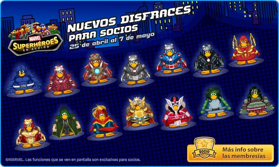 Nuevos Disfraces Para SOCIOS 2013