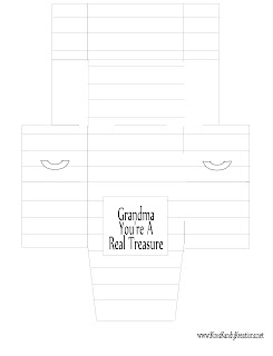 Grandma Mothers Day Gift Treasure Box Printable