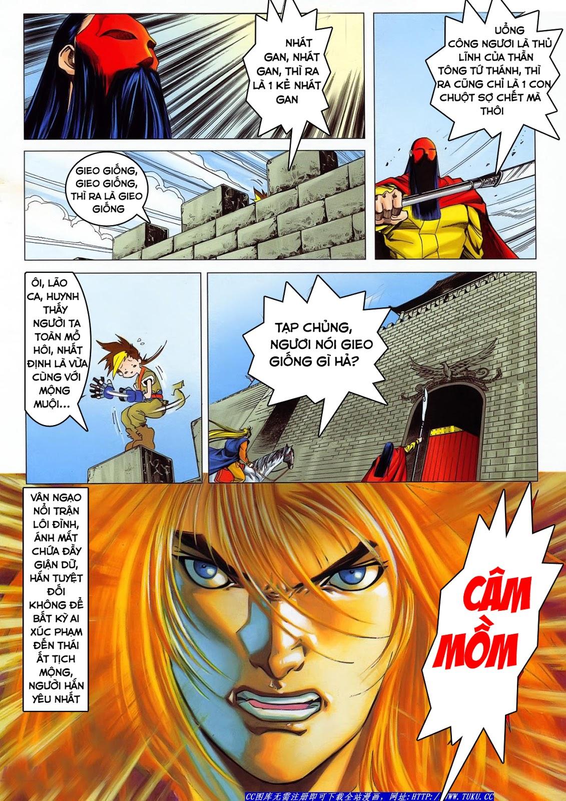 Lục Đạo Thiên Thư chap 36 - Trang 18