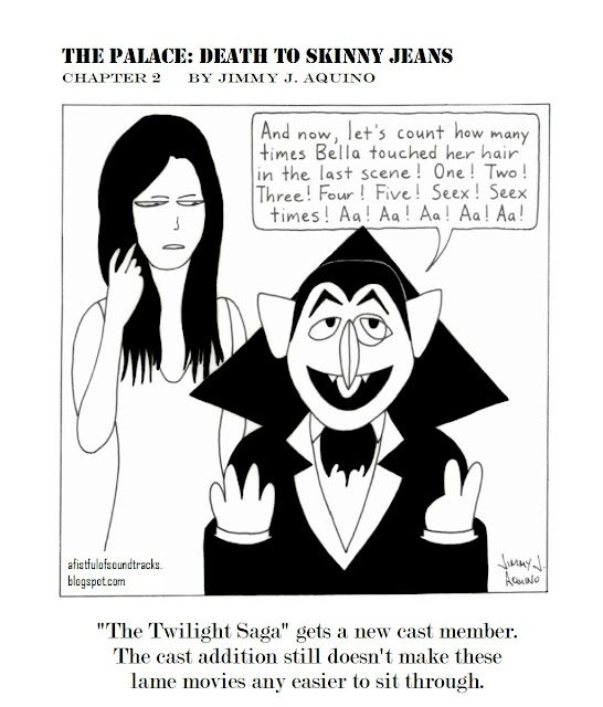 The Palace: Death to Skinny Jeans, Chapter 2 by Jimmy J. Aquino
